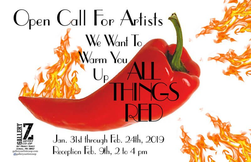 All things red - call for art